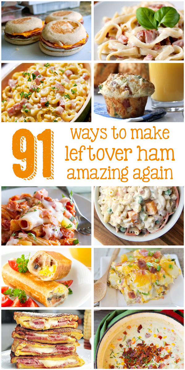 Forty Eighteen 91 things to do with your leftover Easter ham