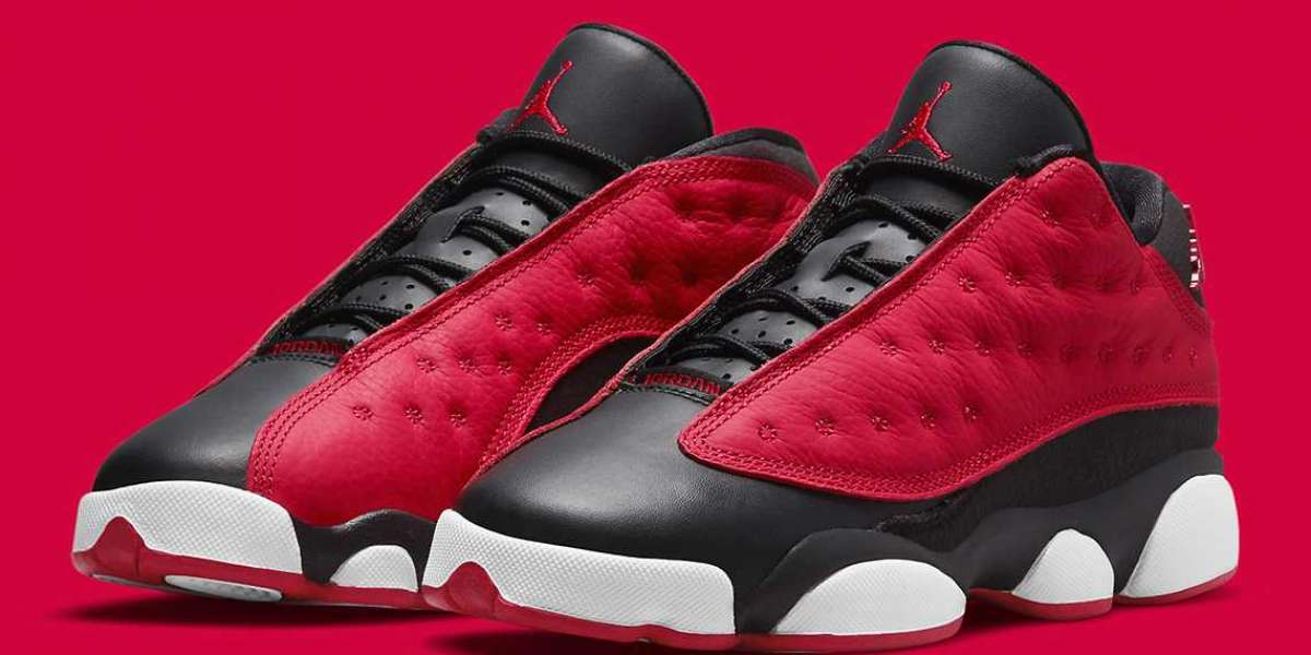 """DA8019-061 Air Jordan 13 Low GS """"Very Berry"""" will be released on July 8"""